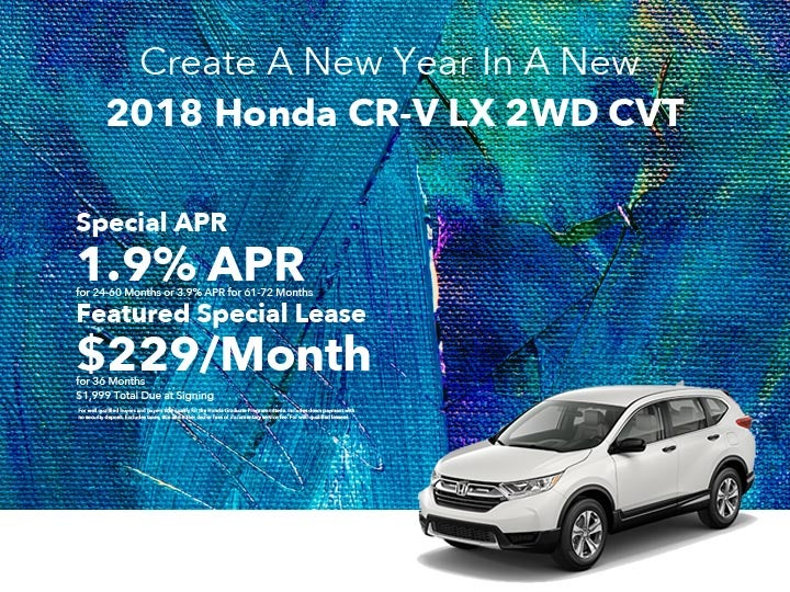 2018 Honda Cr V Lx