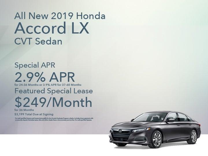 2019 Honda Accord Lx